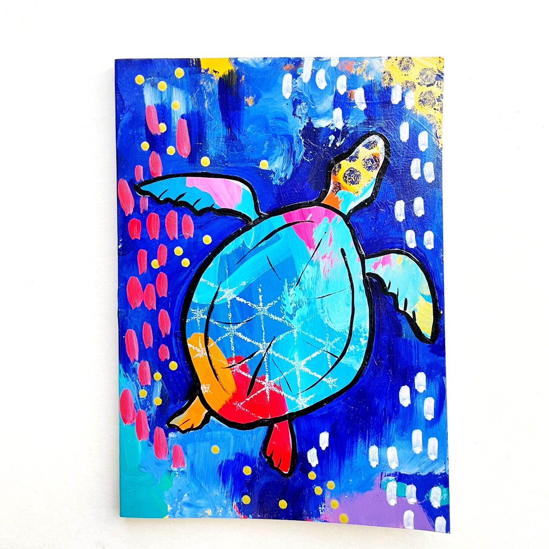 Turtle Notebook - blank