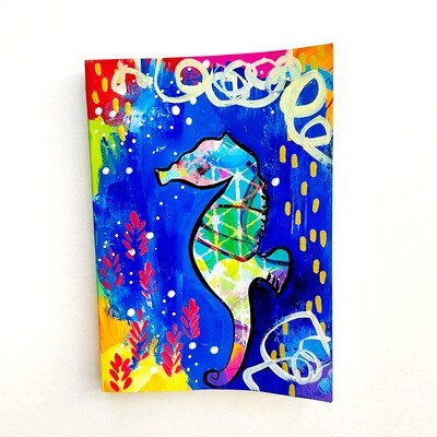 Seahorse - blank