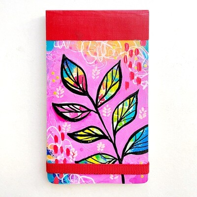 Leaves Flip Notebook - lined