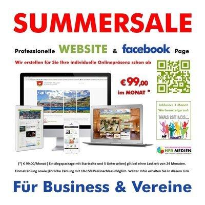 Website & Facebook-Page