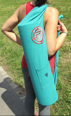 Vishuddha Throat or Muladhara Root Chakras Mat Bag