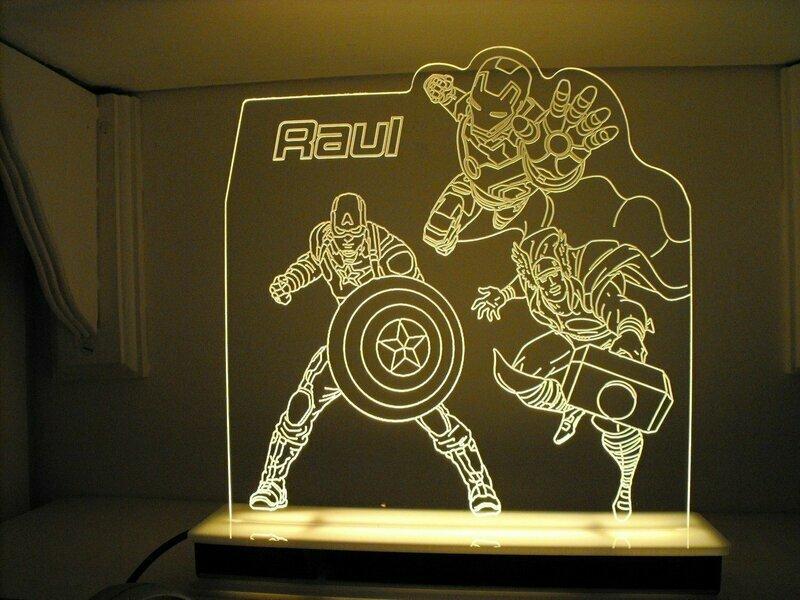 Avengers Designer Light
