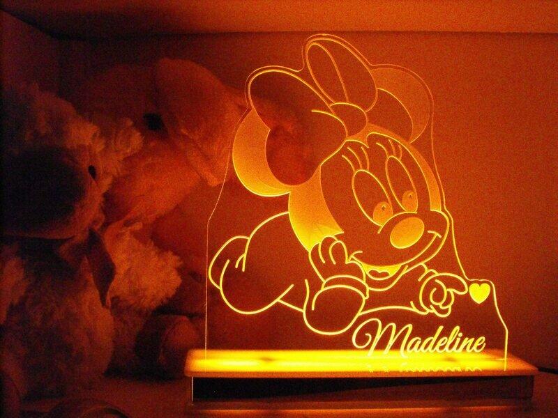 Baby Minnie Mouse Designer Light
