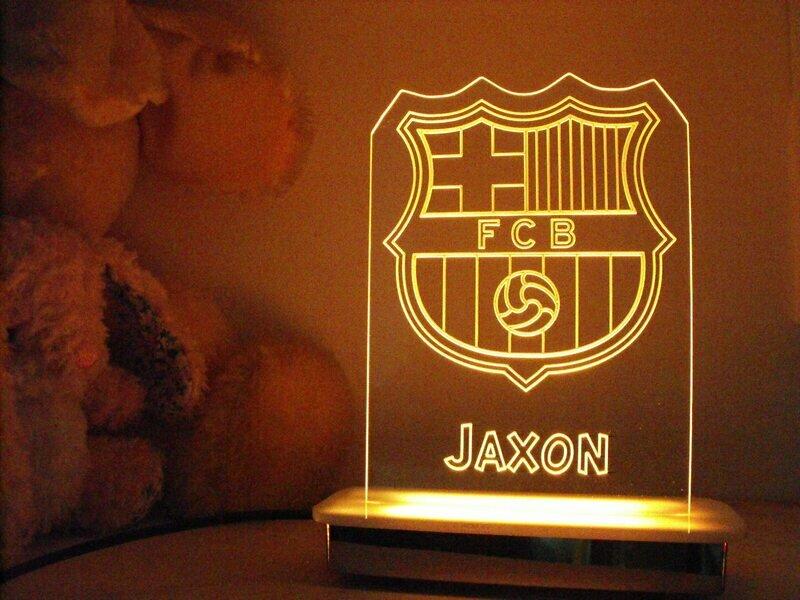 Barcelona Night Light