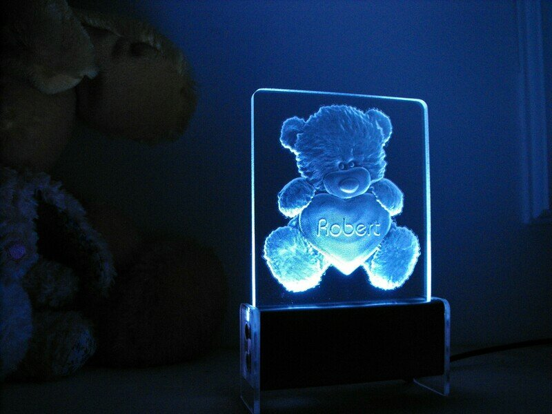 Bear Heart QT 3D Light