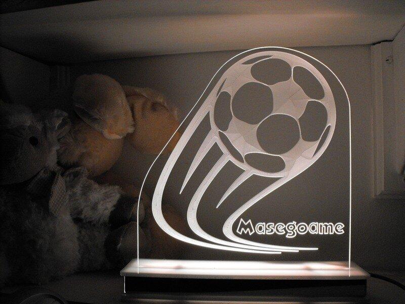 Goal Soccer Ball Designer Light