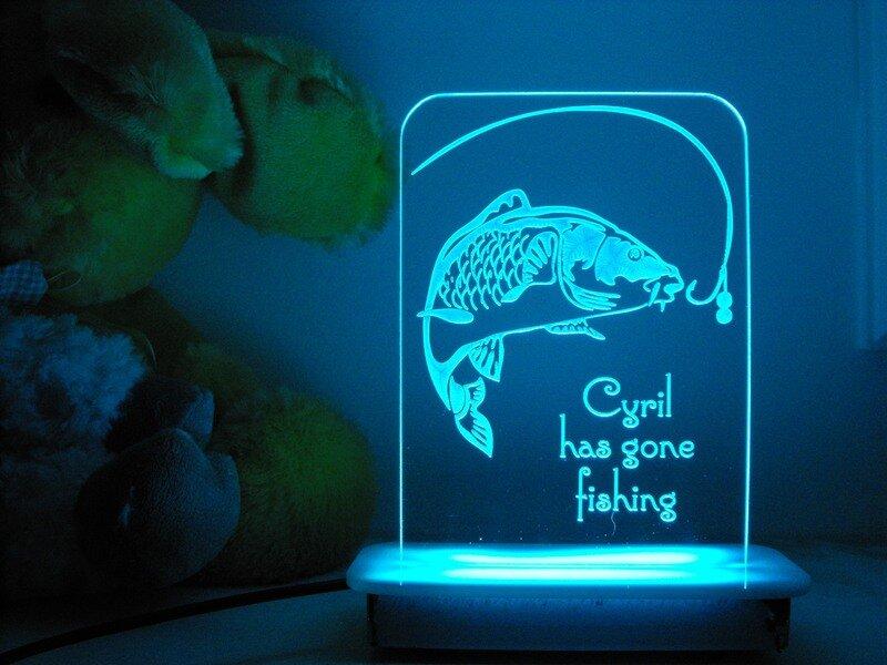 Gone Fishing Night Light