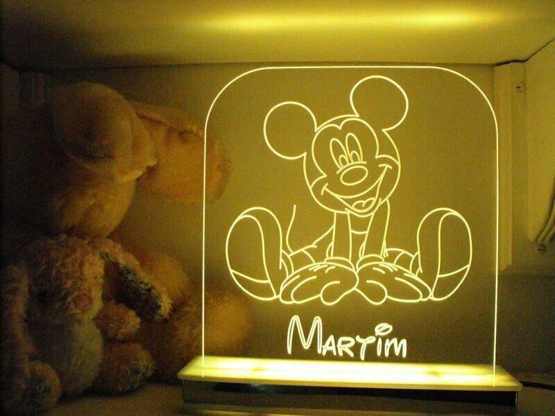 Happy Mickey Mouse Designer Light