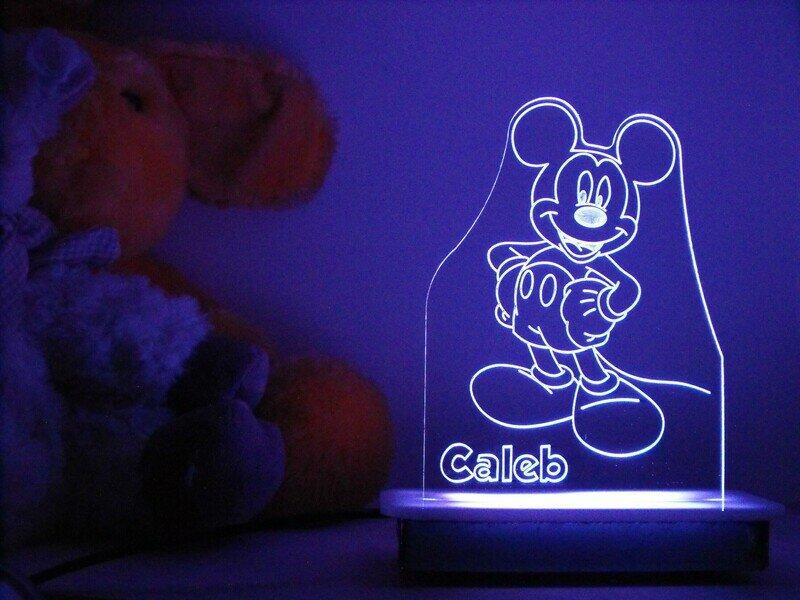 Happy Mickey Mouse Night Light