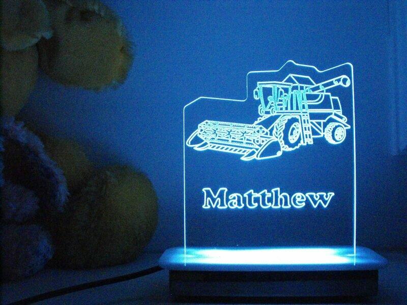 Harvey the Harvester Night Light