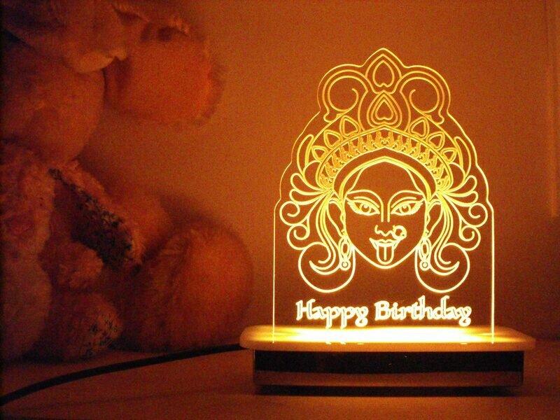 Kali Devi Night Light