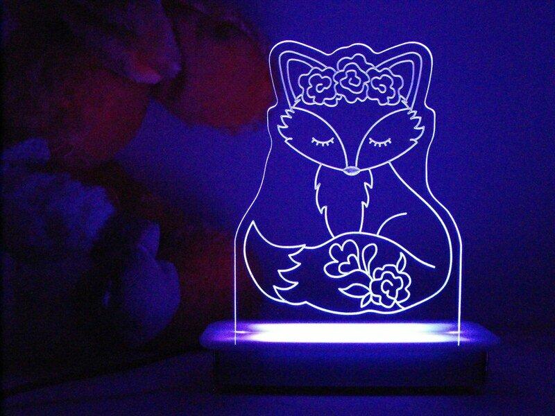 Lady Fox Night Light