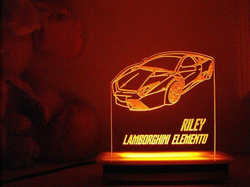 Lamborghini Elemento Night Light