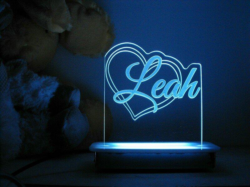 Loving Heart Night Light