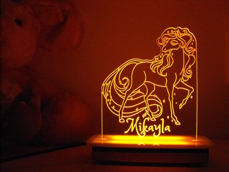 Majestic Horse Night Light