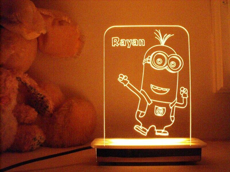Minion Kevin Night Light