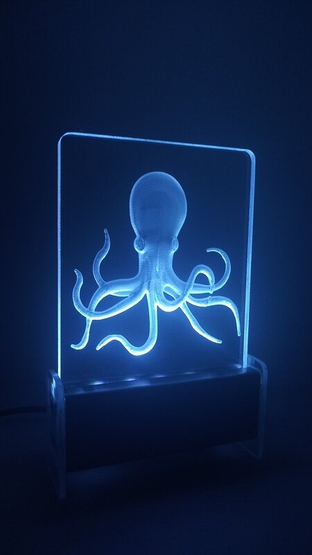 Octopus QT 3D Light