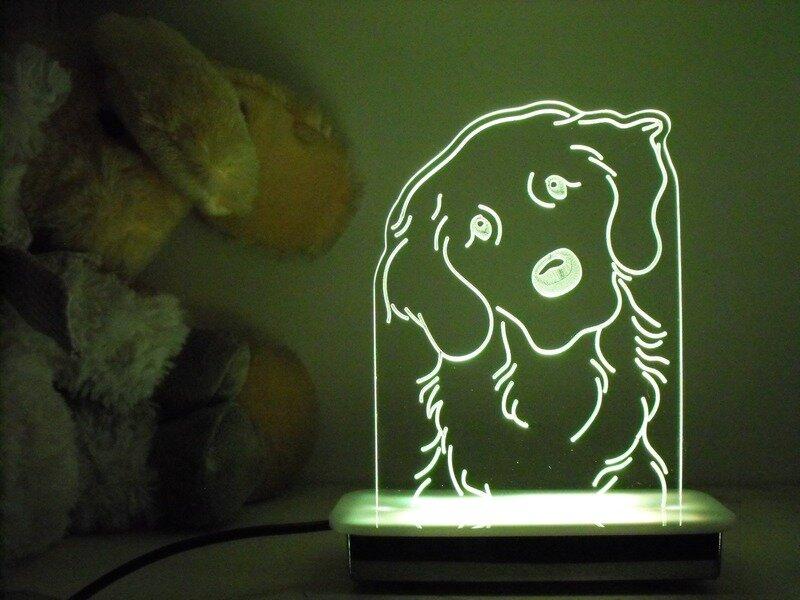 Sade the Labrador Dog Night Light