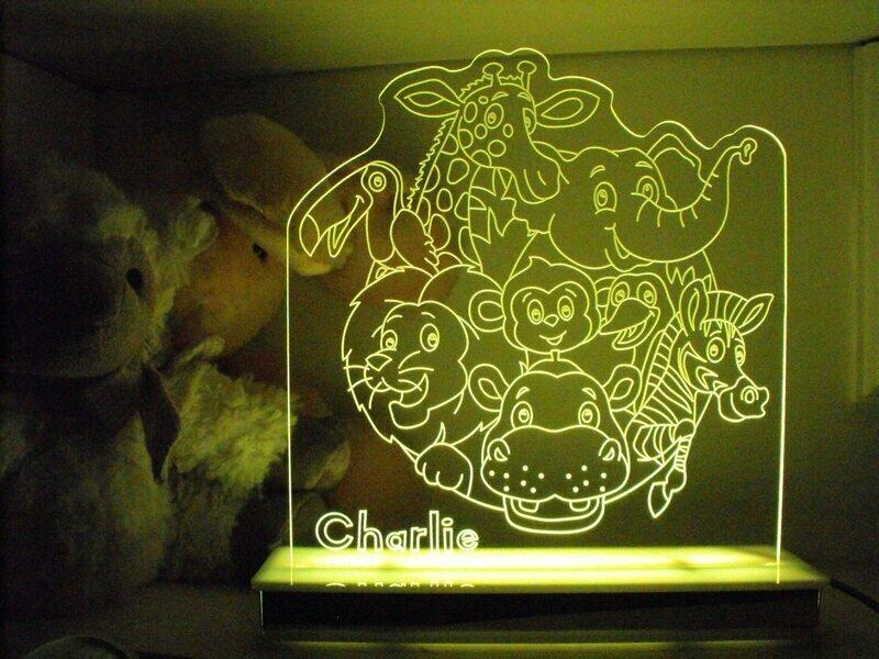 Safari Animals Designer Light