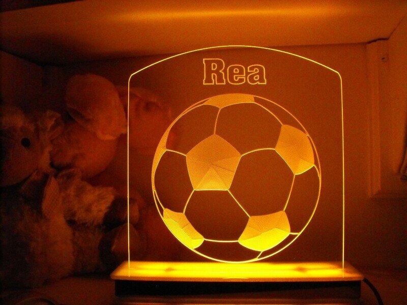 Soccer Ball Designer Light
