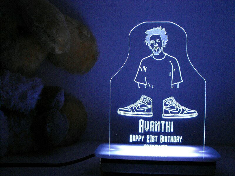 Something Different for a 21st Key Night Light