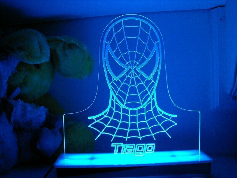 Spiderman Designer Light