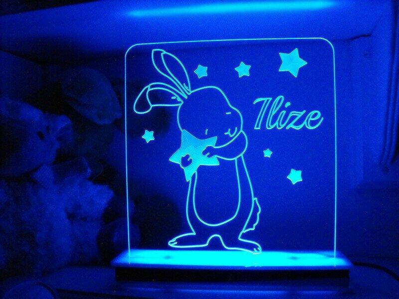 Star Dust Bunny Designer Light
