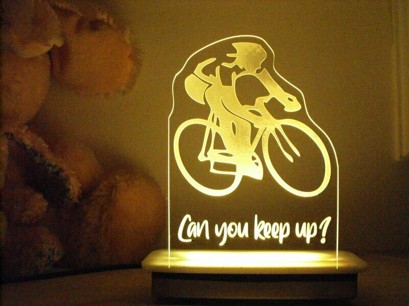 The Cyclist Night Light