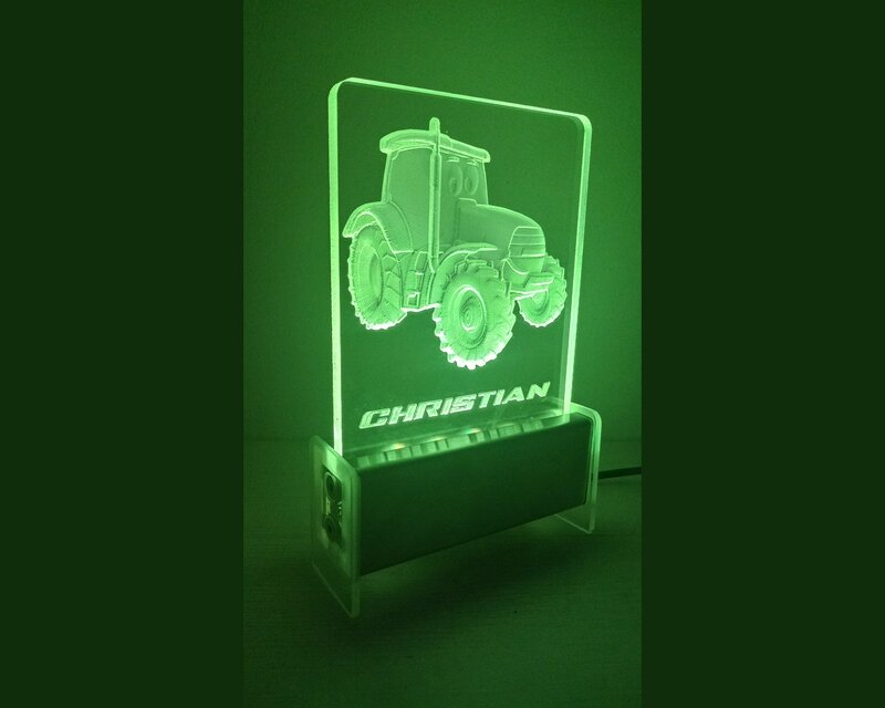 Tractor QT 3D Light