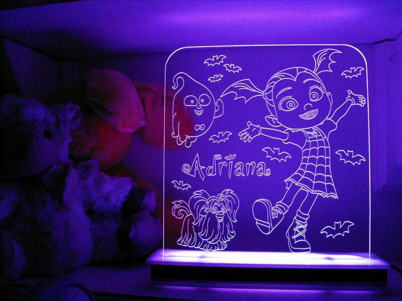 Vampirinia and Friends Designer Light