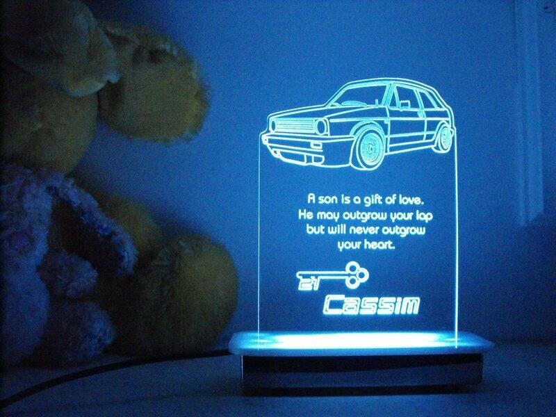 VW Golf One 21st Key Night Light