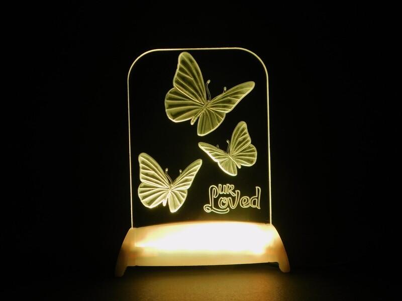 Butterflies of Love QT 3D Light