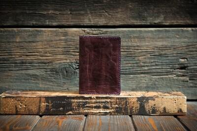 Обложка на паспорт из сыромятной кожи цвета пепельной розы