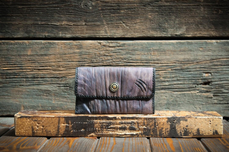 Чехол для купюр и документов лавандового цвета