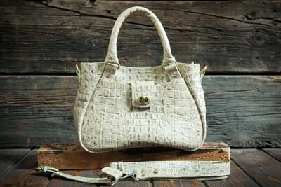 Бежевая женская сумочка