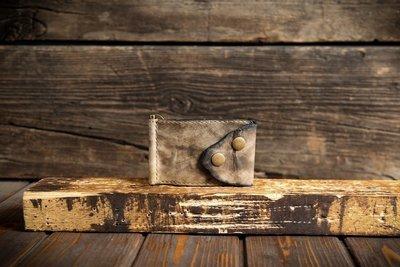 Зажим для купюр из сыромятной кожи