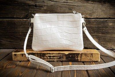 Женская белая сумочка