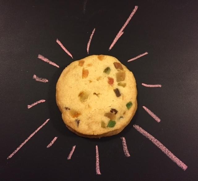 Tutti-Frutti shortbread cookies (4 Unidades)