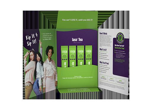 Iaso Tea Instant Sample Pack