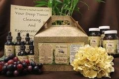 Deep Tissue Cleansing and Regeneration Kit Weeks 1 - 2 with Diet Protocols