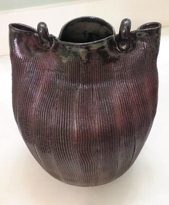Heavily Stressed Texture Vase