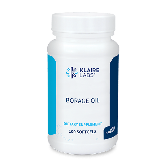 Borage Oil 1000 mg 100 softgels