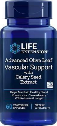 Olive Leaf Vascular Support 500mg  60 capsules