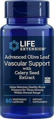 Olive Leaf Vascular Support 500mg  60 capsules