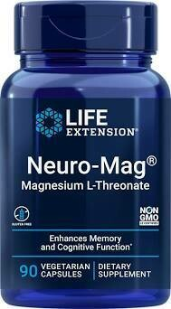 Neuro-Mag® Magnesium L-Threonate, 90 vegetarian capsules