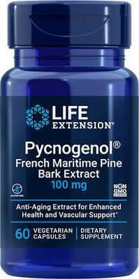 Pycnogenol 100mg 60capsules