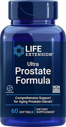 Ultra Prostate Formula 60 soft gels