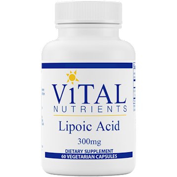 Lipoic Acid 300 mg  60 Caps - Vital Nutrients