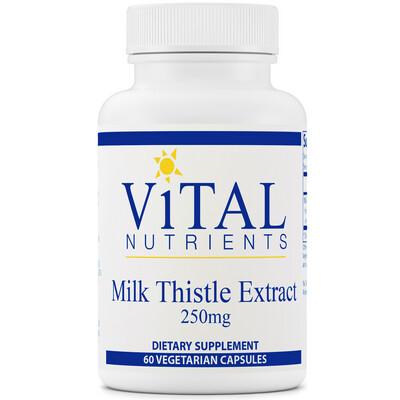 Milk Thistle 250 mg 60 capsules