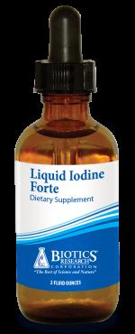 Liquid Iodine Forte 2 oz